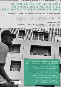 Colloque international : La banlieue loin des clichés : Nouvelles Voix, Images and Identités émergeant à la périphérie des villes françaises